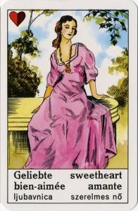 Ljubica, ciganske karte