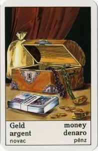 ciganska karta denar